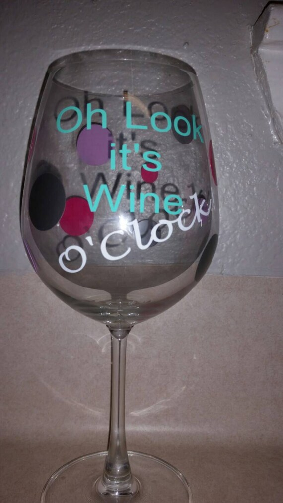 Unavailable listing on etsy for Cute quotes for wine glasses