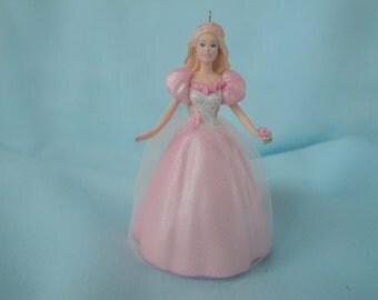 1996 Springtime Barbie Ornament/2nd in Keepsake Easter Series/Hallmark Springtime Collector's Series