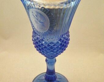 Avon Fostoria Glass Martha Washington Goblet
