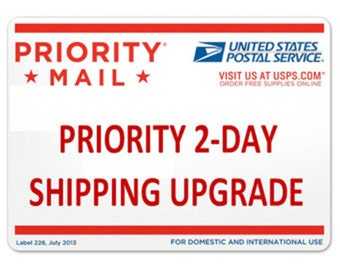 2-Day USPS shipping USA ONLY