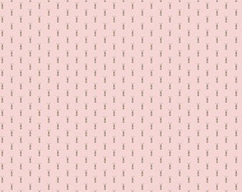 To Norway with Pink Wallpaper by Sue Daley Designs for Riley Blake