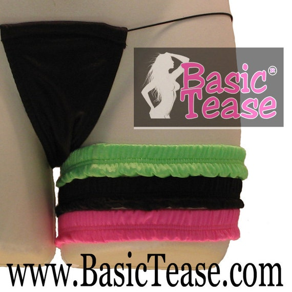 Spandex/Lycra Thick Stripper Garter For Exotic Dancers to Hold Money or Clip your Garter Belt
