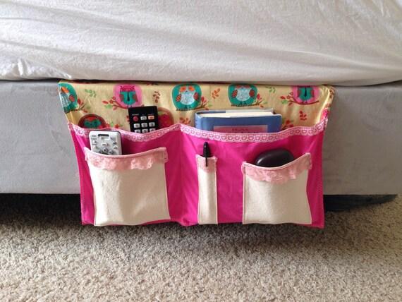 Bedside Caddy For Dorm Girls Owl Bedside Bed Caddy
