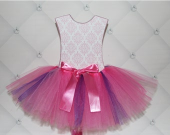 TUTU SKIRT...Pink & Purple Tutu Skirt...Newborn Tutu...Baby Tutu...Toddler Tutu...Cakesmash Tutu...Birthday Tutu...Summer Dress