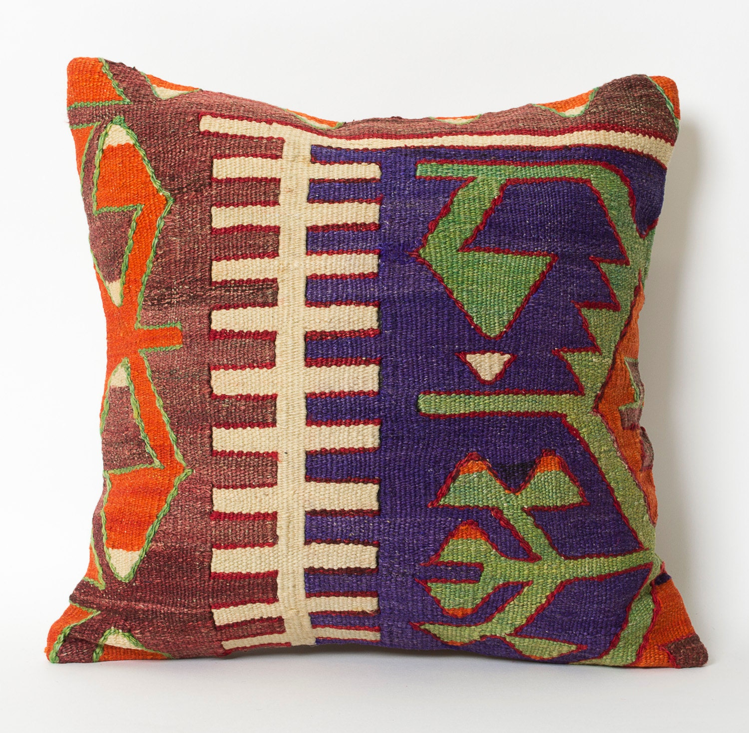 Decorative Pillows Kilim : Kilim Pillowcase Decorative Sofa Pillows Kilim by pillowme
