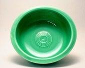 Original Green Fiestaware Bowl No Signs of Use Homer Laughlin Frederick Rhead Pottery - Small F Fiesta