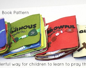 Rosary Quiet Book Pattern//Catholic Children's Craft