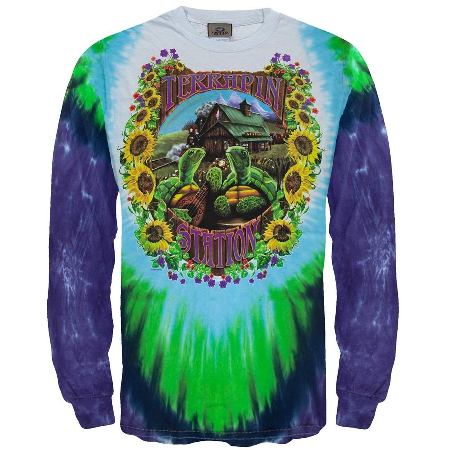 m grateful dead tie dye t shirt terrapin station