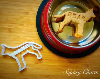Personalized Shepherd cookie cutter
