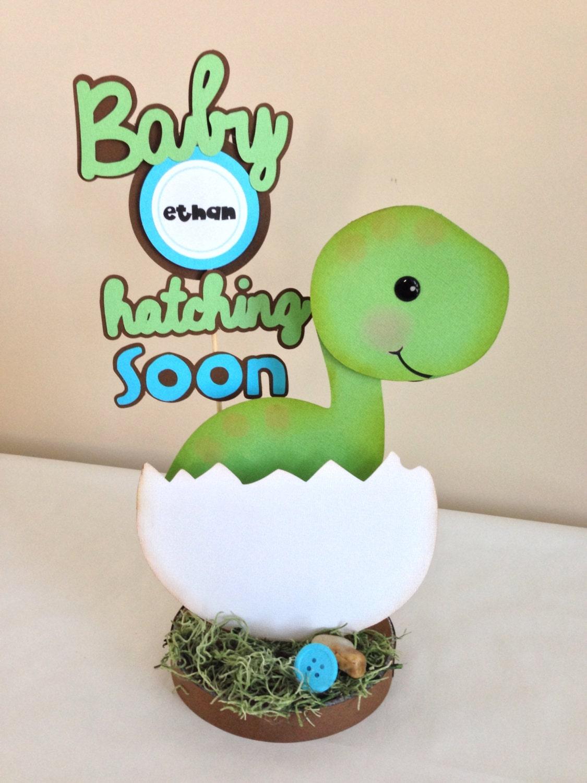 custom listing for sarah d baby dino dinosaur centerpiece