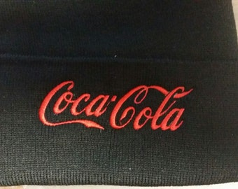 Beanie Coca cola embroidery hat coke soda pop