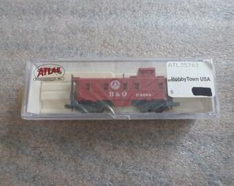Atlas B and O N Scale Train Car