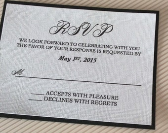 RSVP Cards with envelope