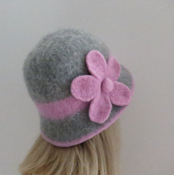Felted Hat Pattern 201 Downton Cloche Felt Hat Knitting