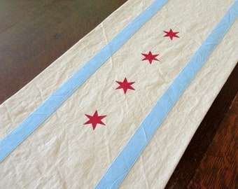 "70"" Chicago table runner - cotton -- for Daaa Dinner Table"