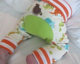 Dinosaur Monster Bunz  Cloth Diaper Maxaloone Style Baby Pants Gift Set