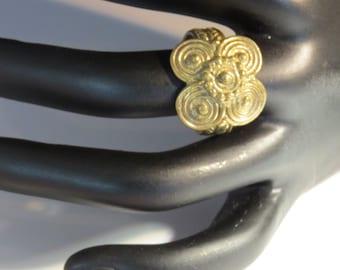 Brass African ring