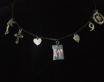 The Divine Comedy Book Necklace