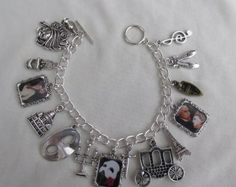 Phantom of the Opera Charms Bracelet