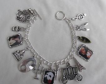 Phantom of the Opera Charms Bracelet