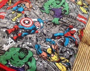 Handmade Super Hero Blanket