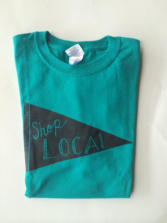 Shop local t shirt screen print t shirt shop small for Local t shirt print shops
