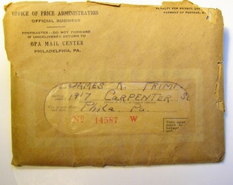 WWII Ration Book Collection