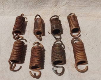 Springs-for crafts, altered art, assemblage, rusty supplies