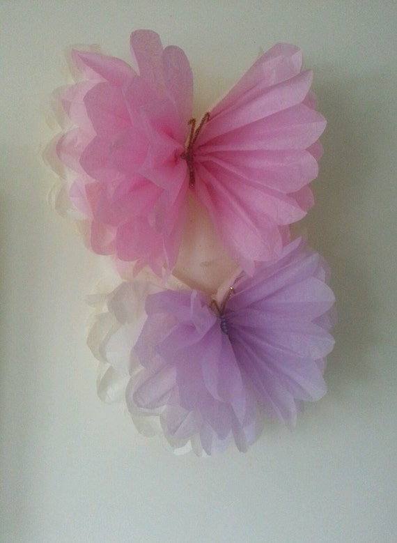 large single hanging tissue paper butterfly 39 s party