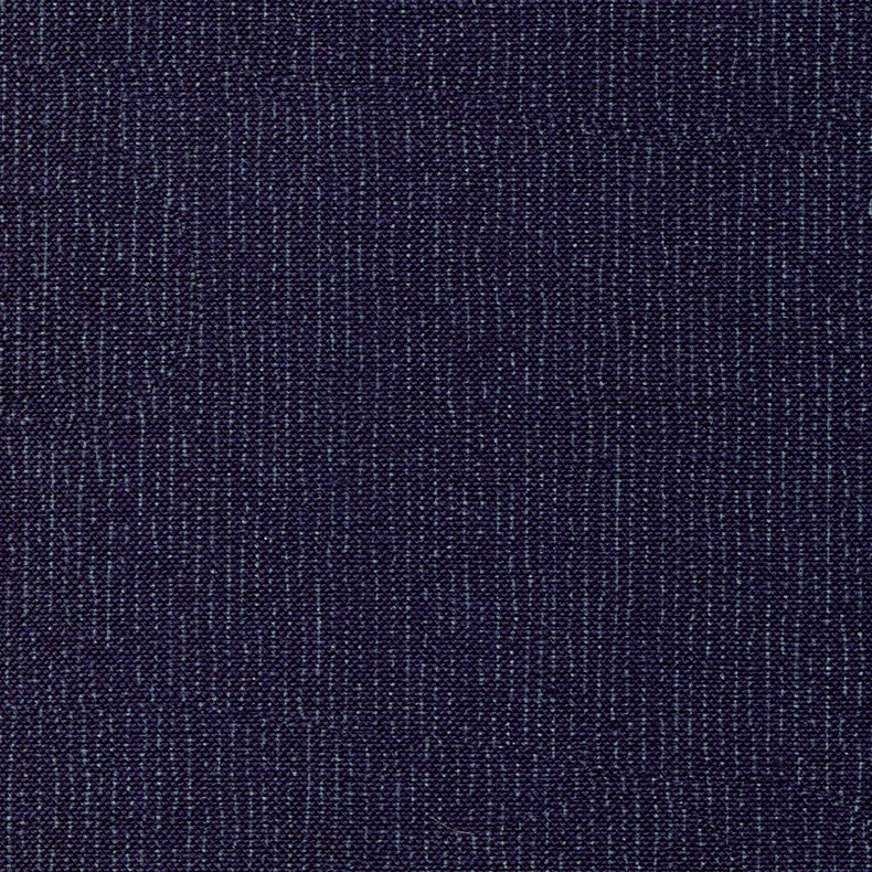 Indigo Fabric Fine Lines Tone on Tone Japanese Indigo Cotton