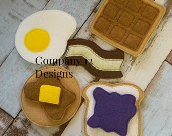 Felt breakfast set includes a bonus piece