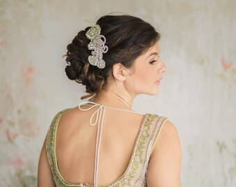 Wedding Crystal Hair Comb - Viva Comb (1 qty ready to ship)