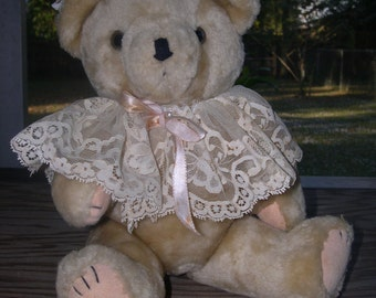 SALE --- Stuffed Brown Bear --- Reduced