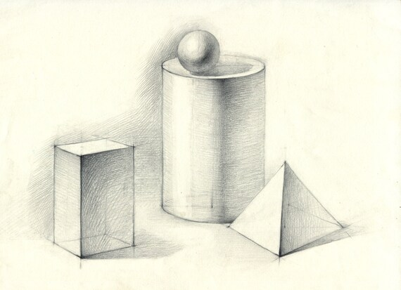 zylinder kugel quader und pyramide original linie. Black Bedroom Furniture Sets. Home Design Ideas