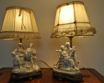 Vintage Lamps Etsy