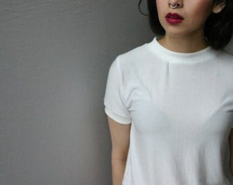 Basic White T - Women's Plain White T-Shirt