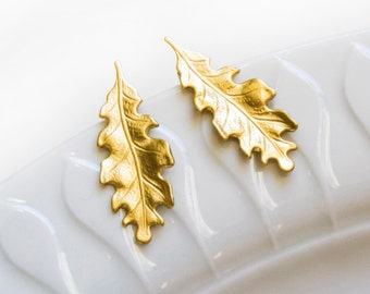 Golden earrings - gold plated