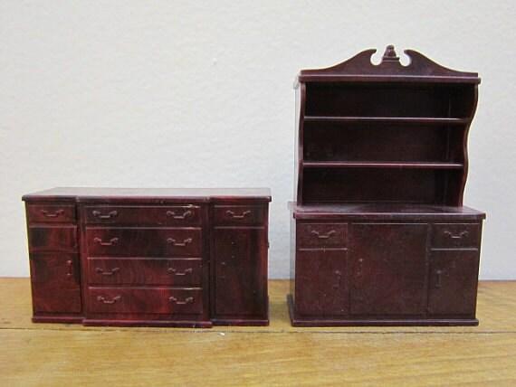 Vintage marx dollhouse dining room furniture by foxlanevintage - Dollhouse dining room furniture ...