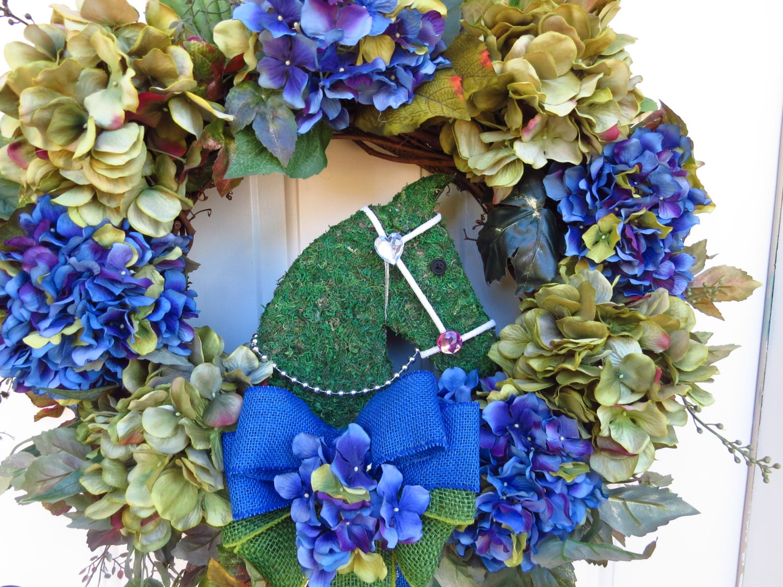 Head Wreaths For Sale Horse Topiary Wreath Sale