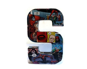 Personalised Comic Book Decor Letter S Large free standing decoration