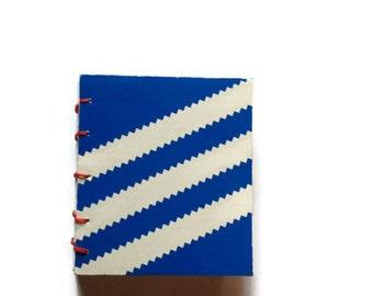 ADIDAS Shoe Box MEGA mini coptic stitched journal
