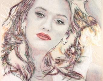 Portrait of Kat Dennings