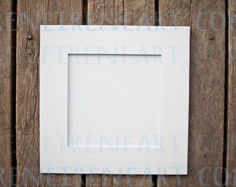 12x12 square art mats 4 ct precut white art mats for 8x8 12x12 pre cut white mats bulk craft supplies framing supplies
