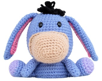 Fat Face Donkey Amigurumi Pattern