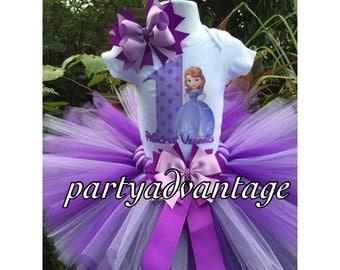 Handmade purple and lavender Tutu set, princess tutu outfit, birthday  tutu, princess in training, photo shoot, pageant,