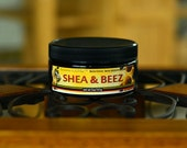 Shea & Beez  Raw Shea Butter and Beeswax Deep Moisturizer