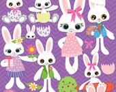 Bunny clip art, Easter Bunny clipart, commercial use, vector graphics, digital clip art, digital images, AMB-370