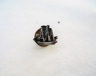 Sailing Ship Lapel Pin