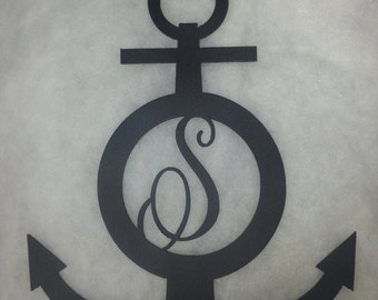 Personalized Anchor Nautical Wall Art/Decor Metal Steel