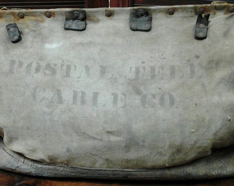 Postal Telegraph Cable Co. Bag